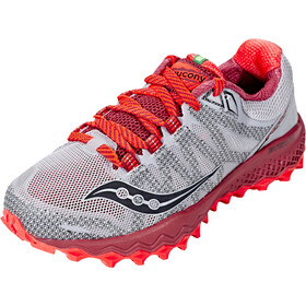 6dd48cb5cfd saucony Peregrine 7 - Chaussures running Femme - gris rouge